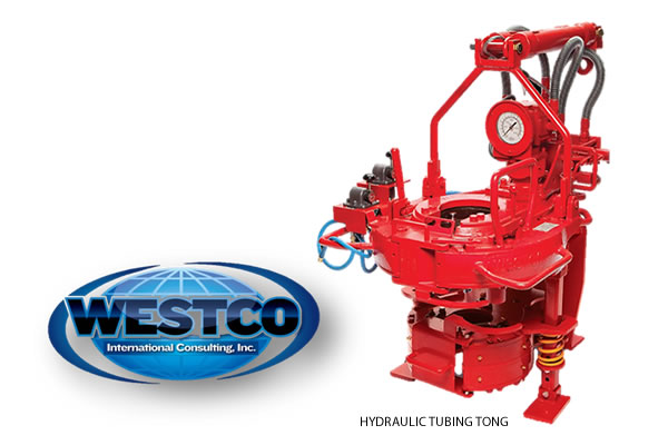 Product Specs: WESTCO International Consulting – Model 5500 Hydraulic Tubing Tongs